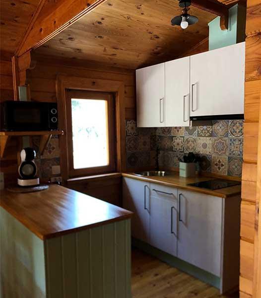 Cabaña Maia - Cocina