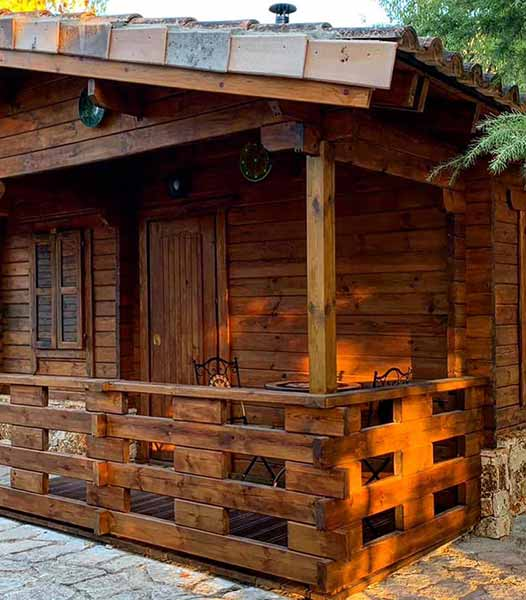 Cabaña Vega - Porche Exterior